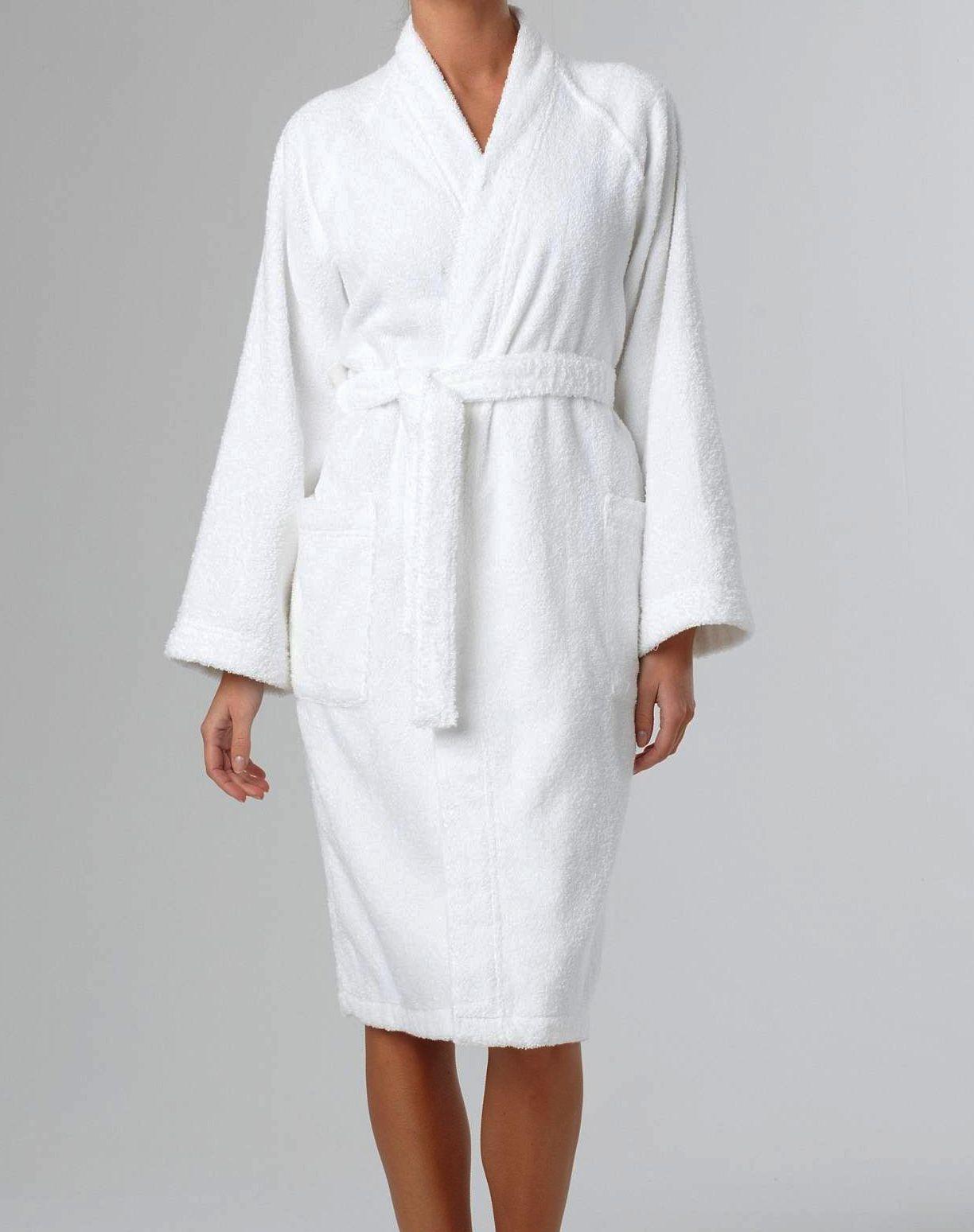 Kimono eponge femme for Peignoir eponge homme
