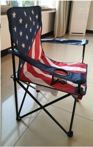 Stocklot   American Flag Chair