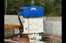 stocklot - Used vibro hammer SVR 25VM to work on a crane or piling rig