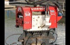 stocklot - Used vibro hammer OVR 60S excavator mounted