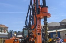 stocklot - New piling / drilling rig  Tescar CF3 CFA