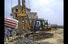 stocklot - New piling / drilling rig  Tescar CF6