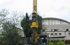 stocklot - New piling / drilling rig  Tescar CF3 DW