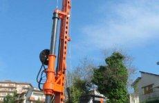stocklot - New piling / drilling rig  Tescar CF6 DW