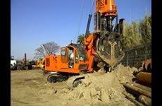 stocklot - New piling / drilling rig  Tescar CF8 DW