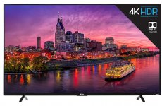 stocklot - TCL 55P607 55-Inch 4K Ultra HD Roku Smart LED TV 2017 Model