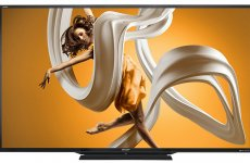 stocklot - Sharp LC-90LE657U 90-Inch Aquos HD 1080p 120Hz 3D Smart LED TV 2014 Model
