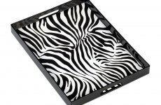 stocklot - Zebra Print Tray