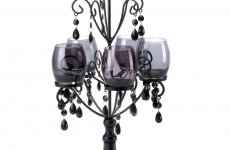 stocklot - Midnight Elegance Candelabra