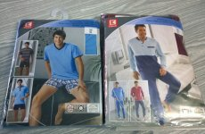 stocklot - mens pyjama set/short