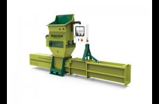 stocklot - EPS recycling with Greenmax Apolo C200 compactor