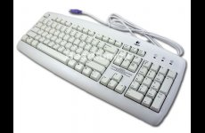 stocklot - Logitech Value Keyboard White US