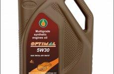 stocklot - Optimal 5W30 motor oil