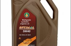 stocklot - Optimal Synthetic 5W40 motor oil
