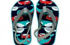 TradeGuide24.com - Atlantis Shoes Kids Ocean Discovery Sandals Flip Flops Green