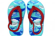 TradeGuide24.com - Atlantis Shoes Kids Ocean Discovery Sandals Flip Flops Red Blue