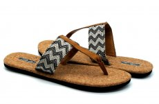 TradeGuide24.com - Atlantis Shoes Women Fashion Cork Black Sandals Flip Flops