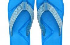 TradeGuide24.com - Atlantis Shoes Men Simply Colorful Blue Sandals Flip Flops