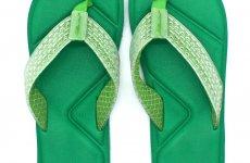 TradeGuide24.com - Atlantis Shoes Men Simply Colorful Sandals Flip Flops Green