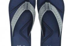 TradeGuide24.com - Atlantis Shoes Men Simply Colorful Navy Sandals Flip Flops