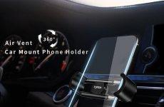 TradeGuide24.com - T-phox Air Vent Car mount Phone holder 360 Rotation
