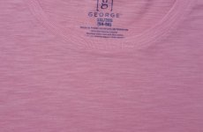 stocklot - GEORGE LABEL MENS SLUB YARN JERSEY POCKET TEE