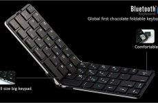 stocklot - Foldable Bluetooth Keyboard Ultra Thin Smart Perfectly Support Apple/Andriod/Microsoft Systems