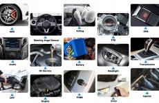 stocklot - FOXWELL NT510 Elite für Mercedes Benz Bidirektionales Vollsystem-Scan-Tool ABS-Blutung TPMS DPF-Öl-R