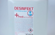 stocklot - Disinfection liquid high quality  - bottle and canister