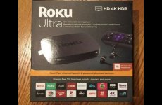 stocklot - Brand New ROKU ULTRA HD 4K MEDIA STREAMER 4670R (LATEST 2019 EDITION) - BLACK
