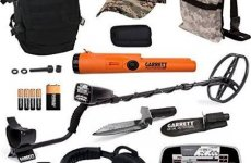 stocklot - Garrett AT Pro Metal Detector Bonus Pack with ProPointer AT and Edge Digger