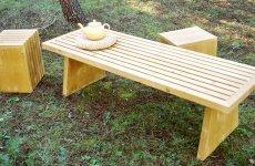 stocklot - Table 160x48,5x44cm