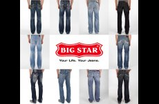 stocklot - Big Star PREMIUM Mens Denim Jeans Assortment 24pcs. bigstar24m