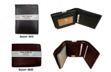 stocklot - Genuine Leather wallets assortment 12pcs. W1613-w3655a