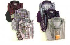 stocklot - Thomas Dean mens l/s button front shirts 18pcs. [6093]