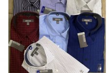 stocklot - Kenneth Cole Reaction mens button front shirts 24pcs [KCR-mens]