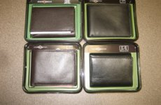 stocklot - Joseph Abboud mens leather wallets 12pcs. abboud