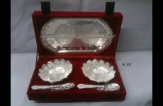 stocklot - Bowl Set Silver Plated