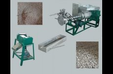 stocklot - EPE foam recycling and pelleting extruder machine