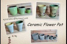 stocklot - Ceramic flower pot stocklot
