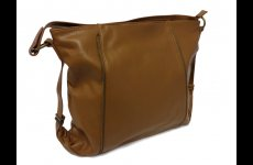 stocklot - Brown zipper handbags