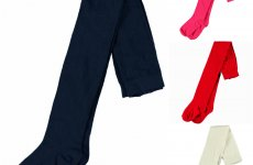 stocklot - Kids tights in 4 different colors size 92-140