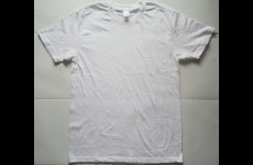 stocklot - Mens Round Neck Short Sleeve Solid T-Shirt