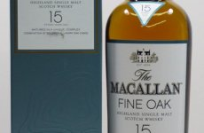 stocklot - MACALLAN 15 Year Old Fine Oak Speyside Whisky 70cl