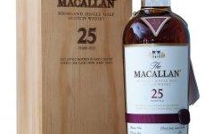 stocklot - The Macallan 25 Year Old Sherry Oak Single Malt Whisky 70cl