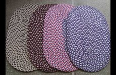 stocklot - Cotton Hosiery Braided Mat