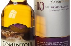 stocklot - Tomintoul 10 Year Old Single Malt Scotch Whisky 70 cl