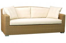stocklot - Wide Sofa 3 seaters with cushion330 OS