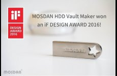 stocklot - German IF Design Award winning product MOSDAN HDD Vaults Maker