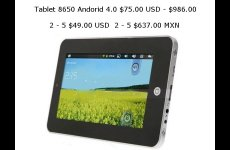stocklot - Tablet 8650 Android 4.0